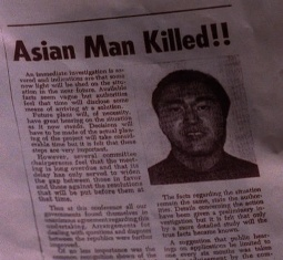 Asian Man Killed!!