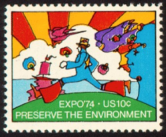 Expo '74 stamp